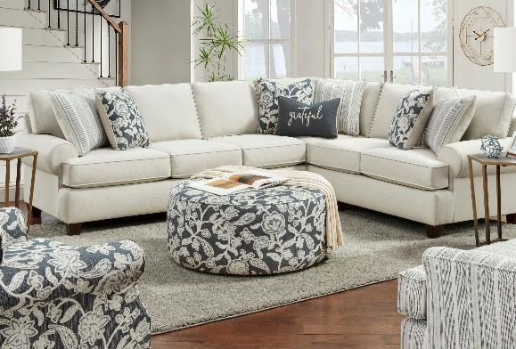 39-00 2-Piece Sectional by Fusion Furniture at Furniture Fair - North Carolina