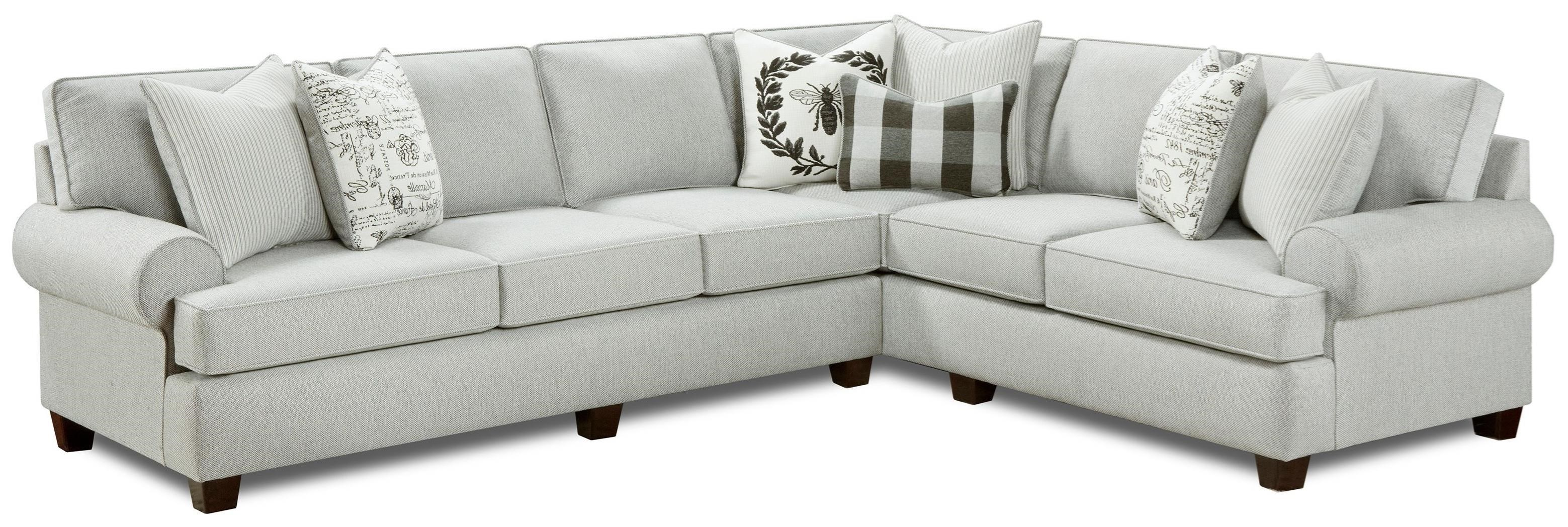 39-00 2-Piece Sectional by Fusion Furniture at Furniture Superstore - Rochester, MN