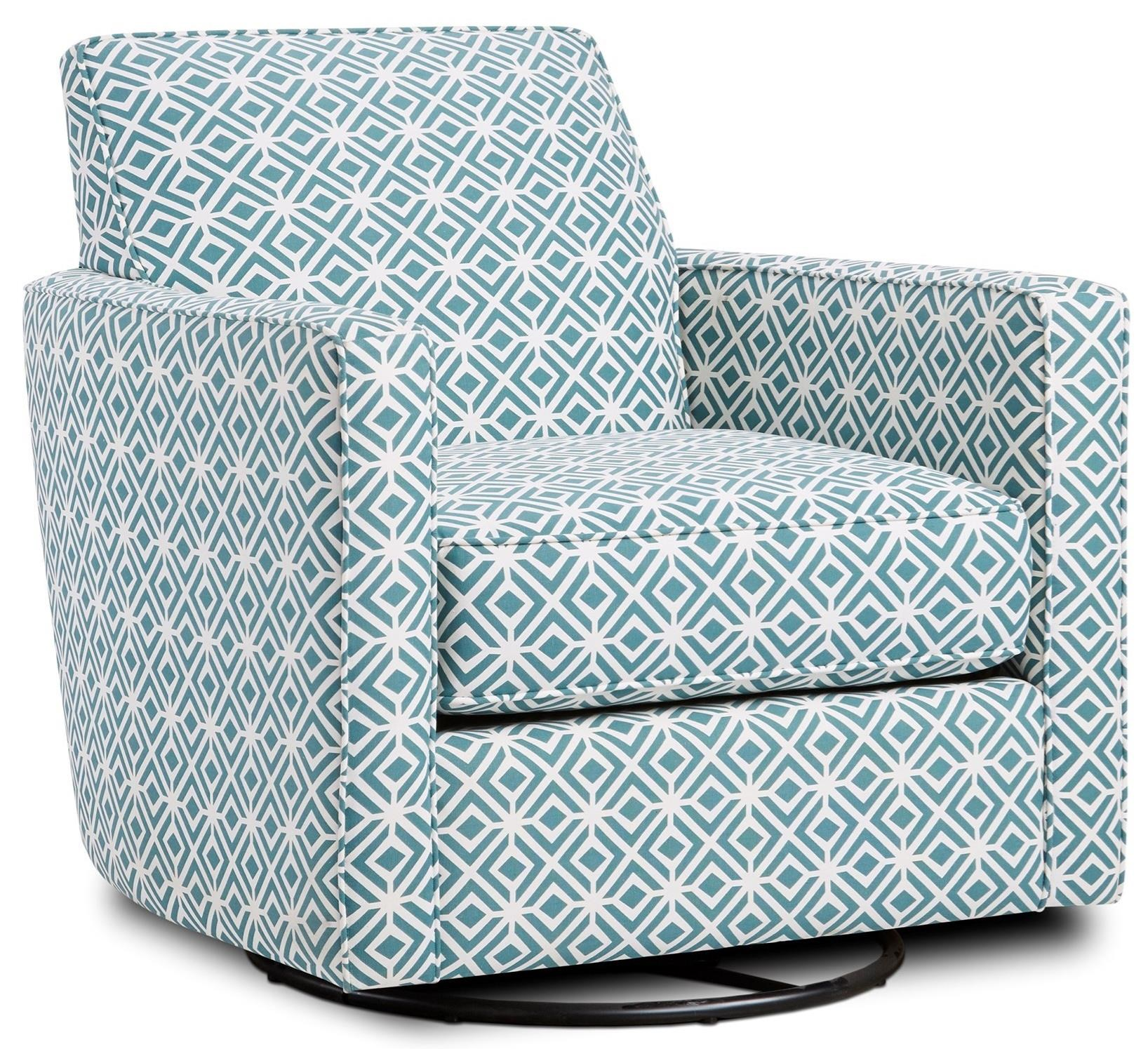 402-G Swivel Glider by Fusion Furniture at Miller Waldrop Furniture and Decor