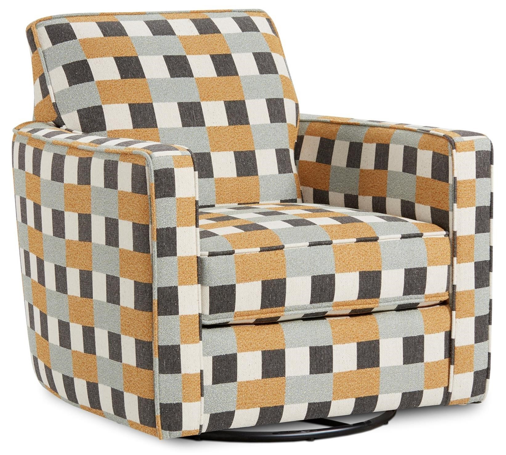 402-G Swivel Glider by Fusion Furniture at Furniture Superstore - Rochester, MN
