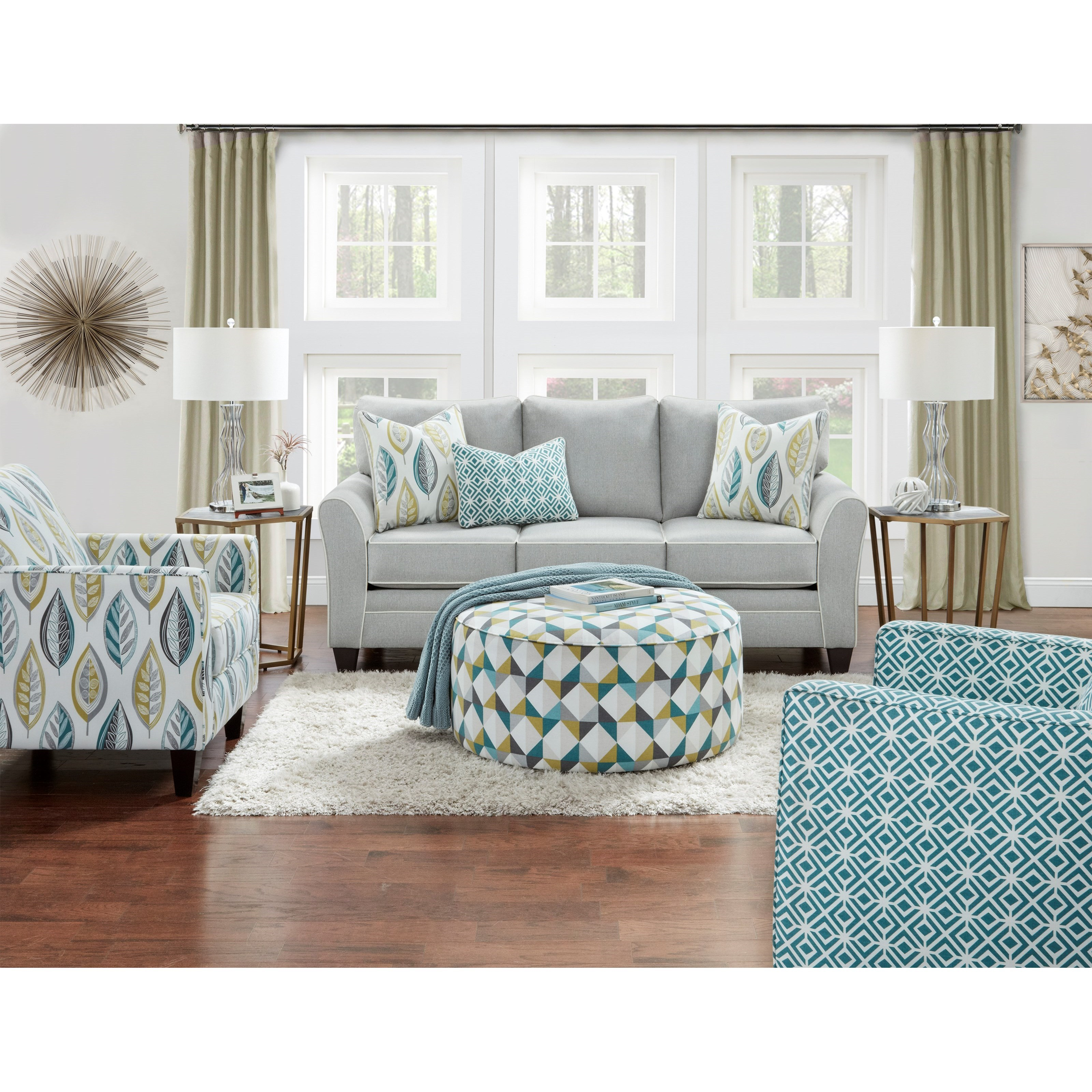 41CW Living Room Group by FN at Lindy's Furniture Company
