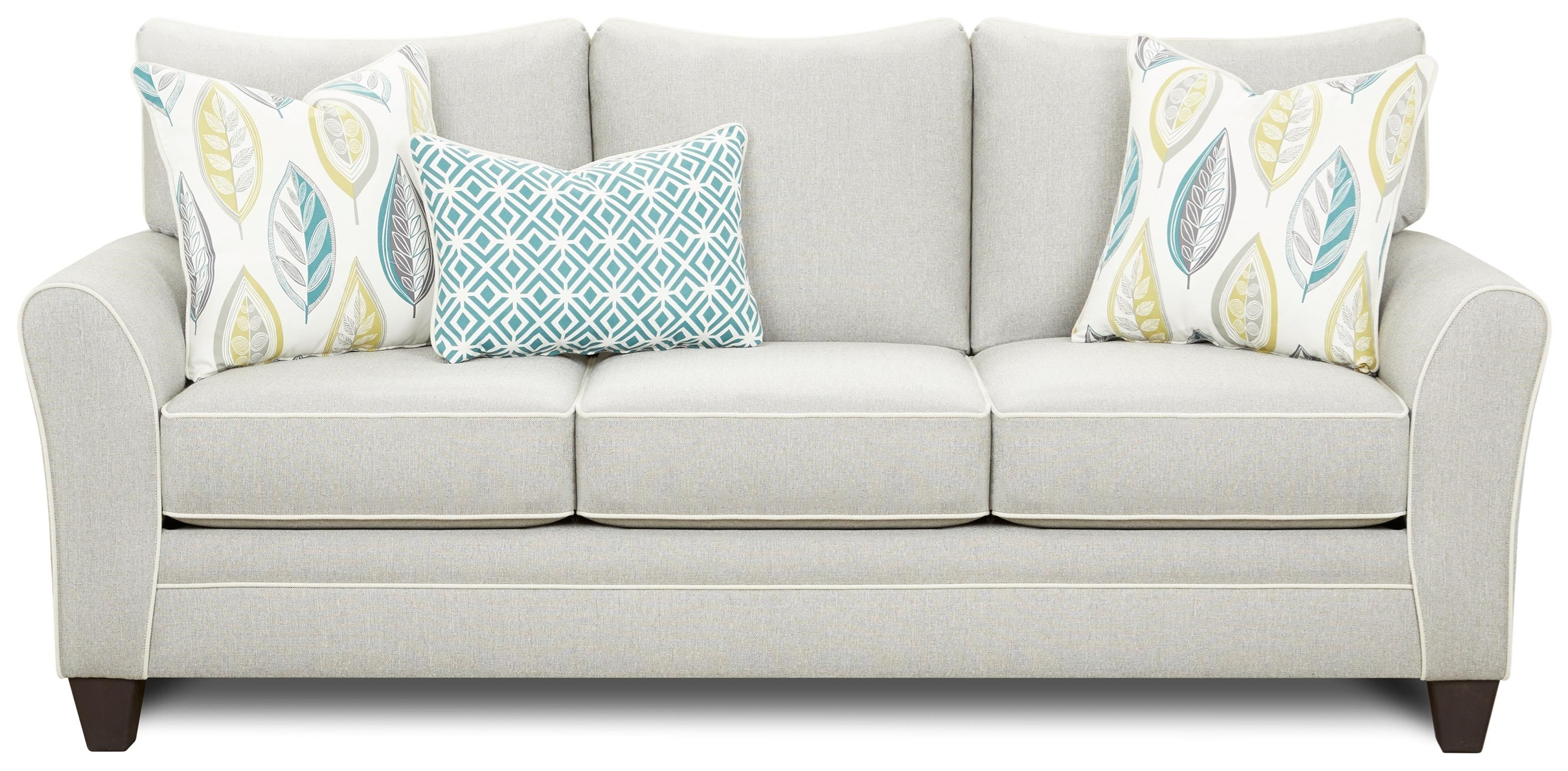 41CW Sofa Sleeper by FN at Lindy's Furniture Company