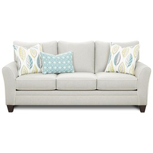 Sofa with Contrast Welts