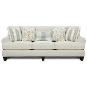 Sofa with Reversible Cushions
