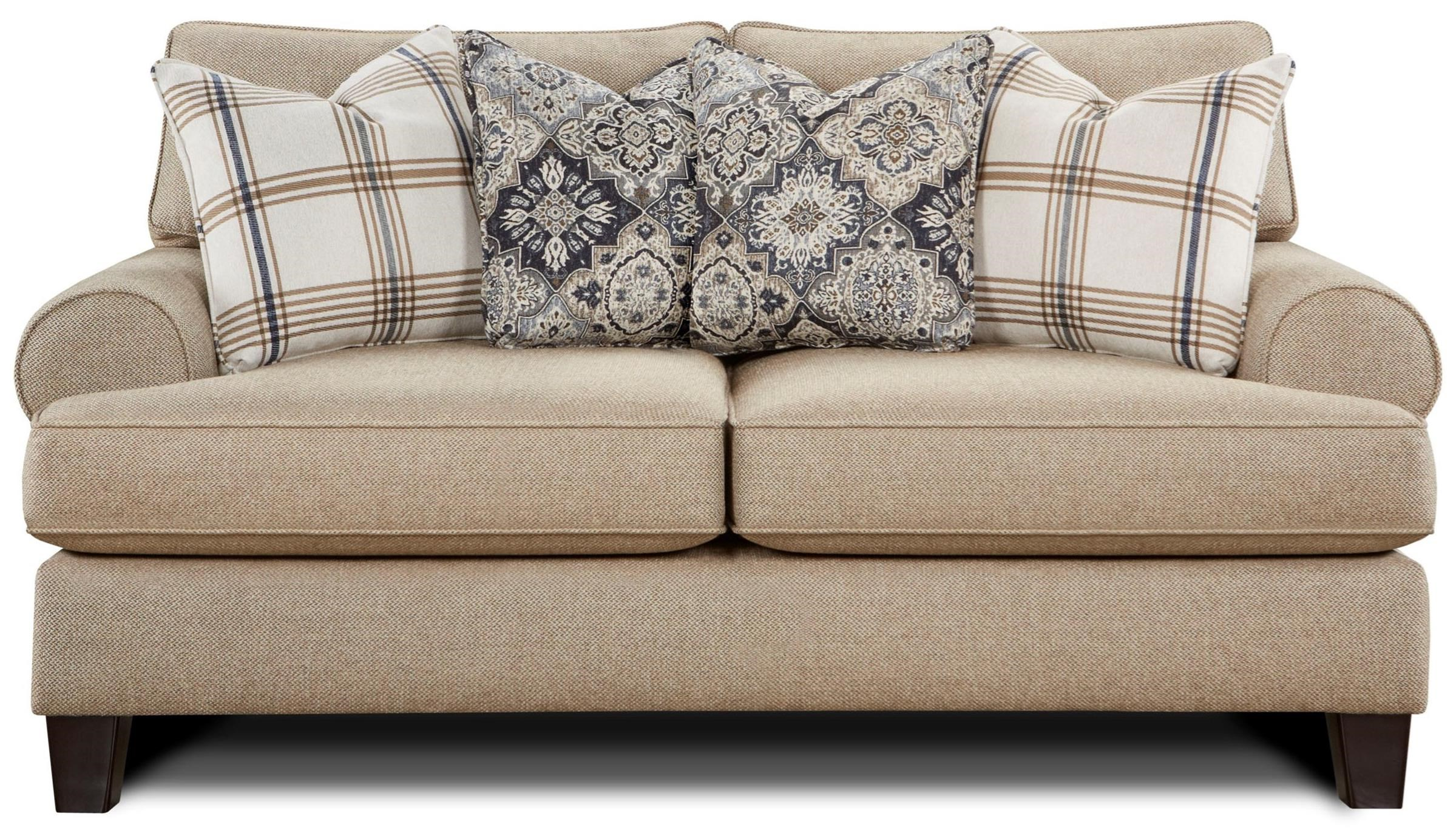 4200 Loveseat by FN at Lindy's Furniture Company