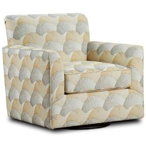 Swivel Chair Ochre