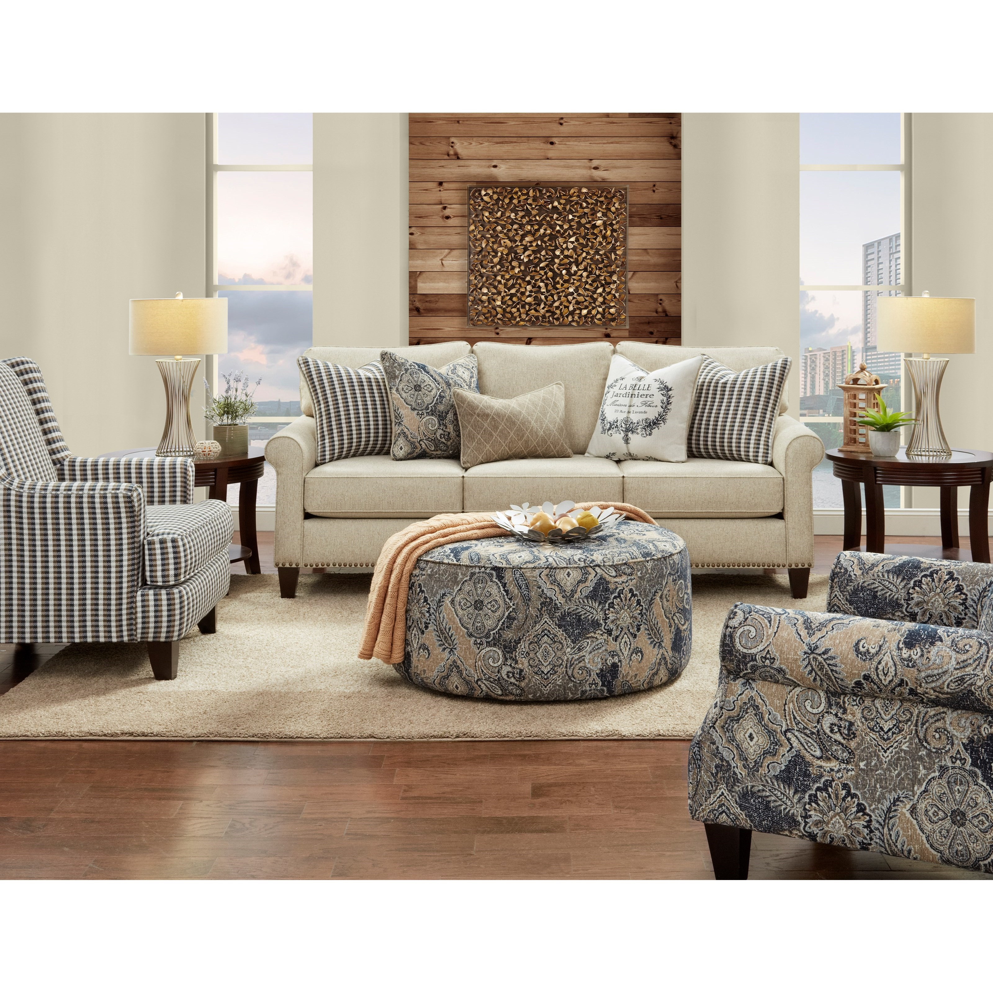 47-00 Living Room Group by Fusion Furniture at Prime Brothers Furniture
