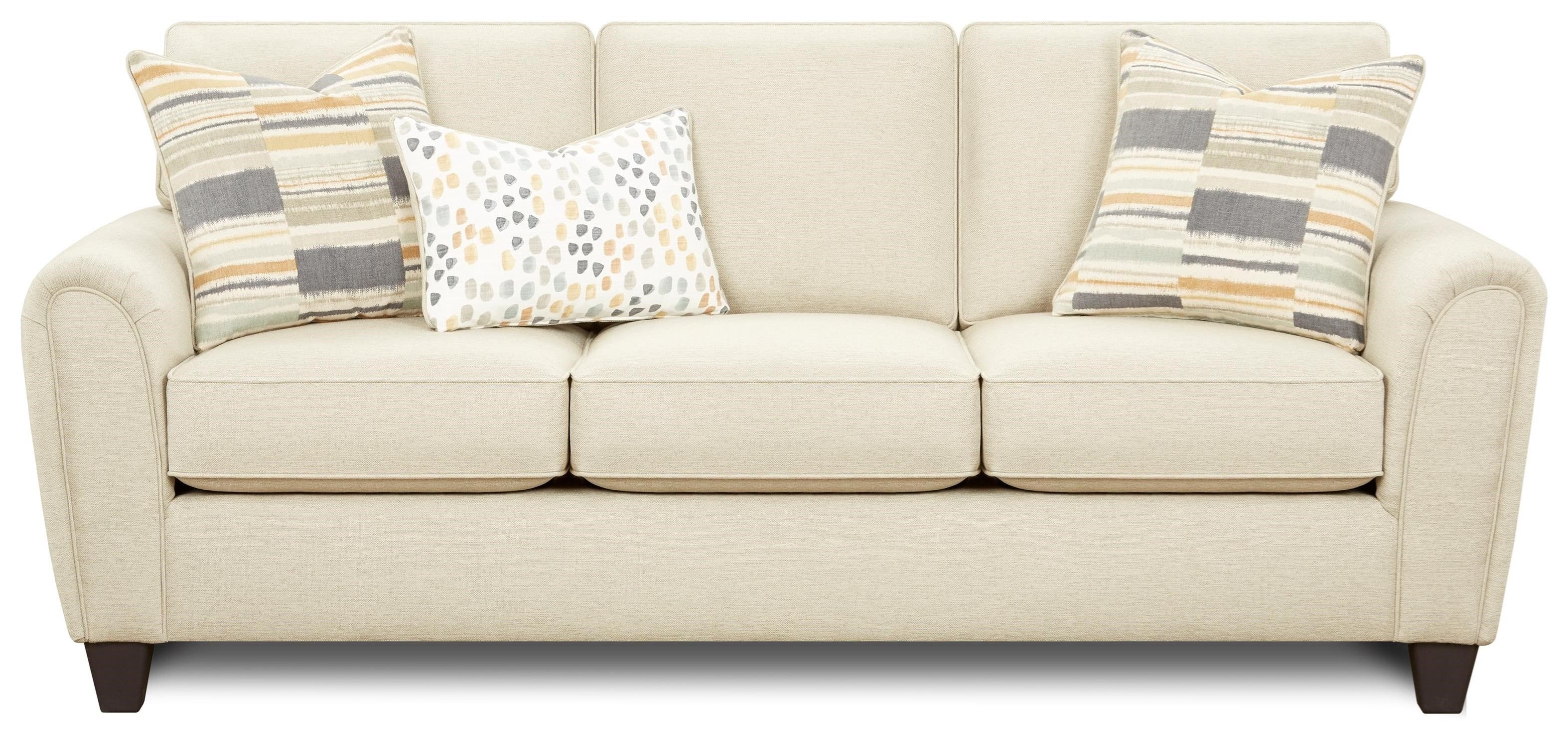 49-00 Sofa by Fusion Furniture at Miller Waldrop Furniture and Decor