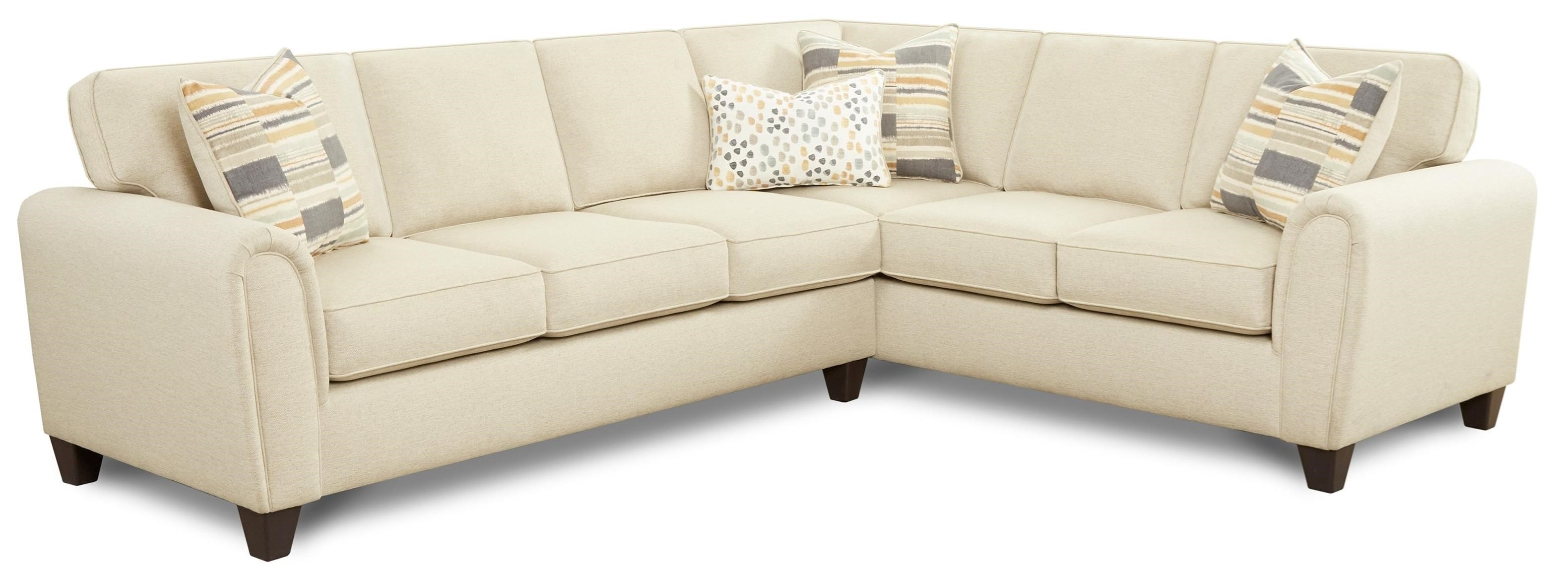 49-00 2-Piece L-Shape Sectional by FN at Lindy's Furniture Company