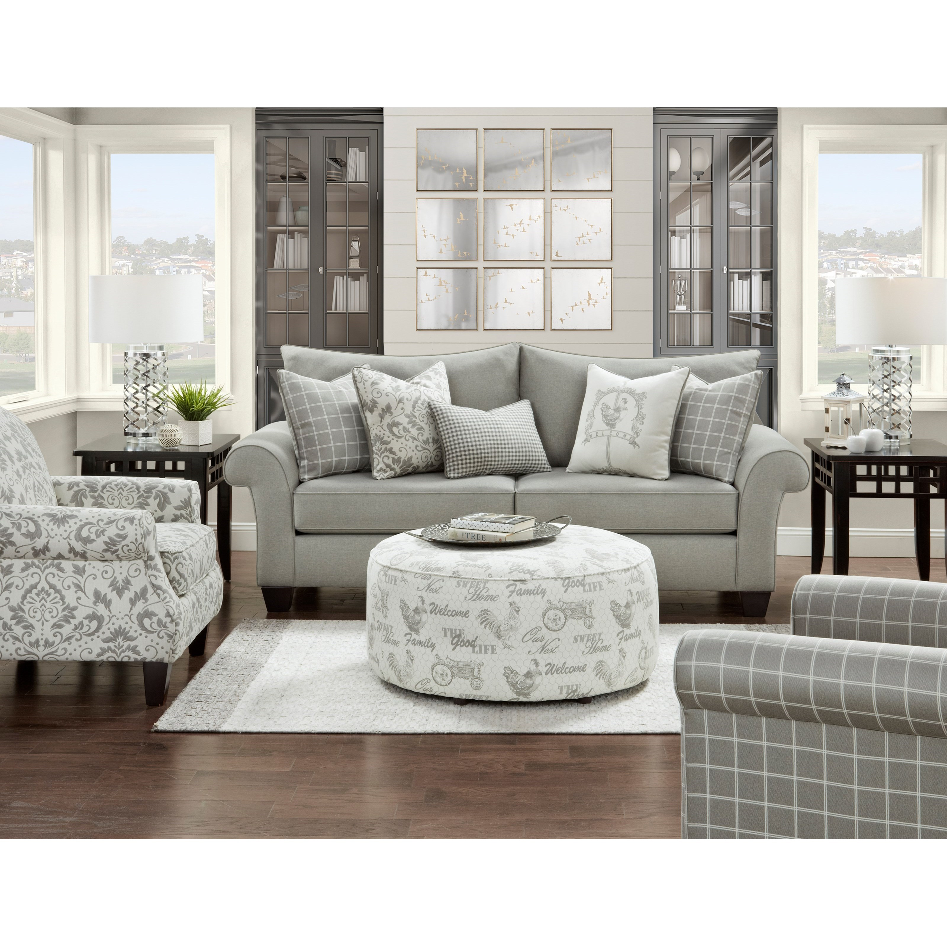 50-00 Living Room Group by Fusion Furniture at Prime Brothers Furniture