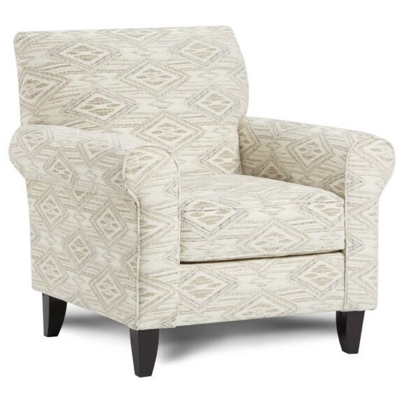 502 Accent Chair by Fusion Furniture at Furniture Superstore - Rochester, MN