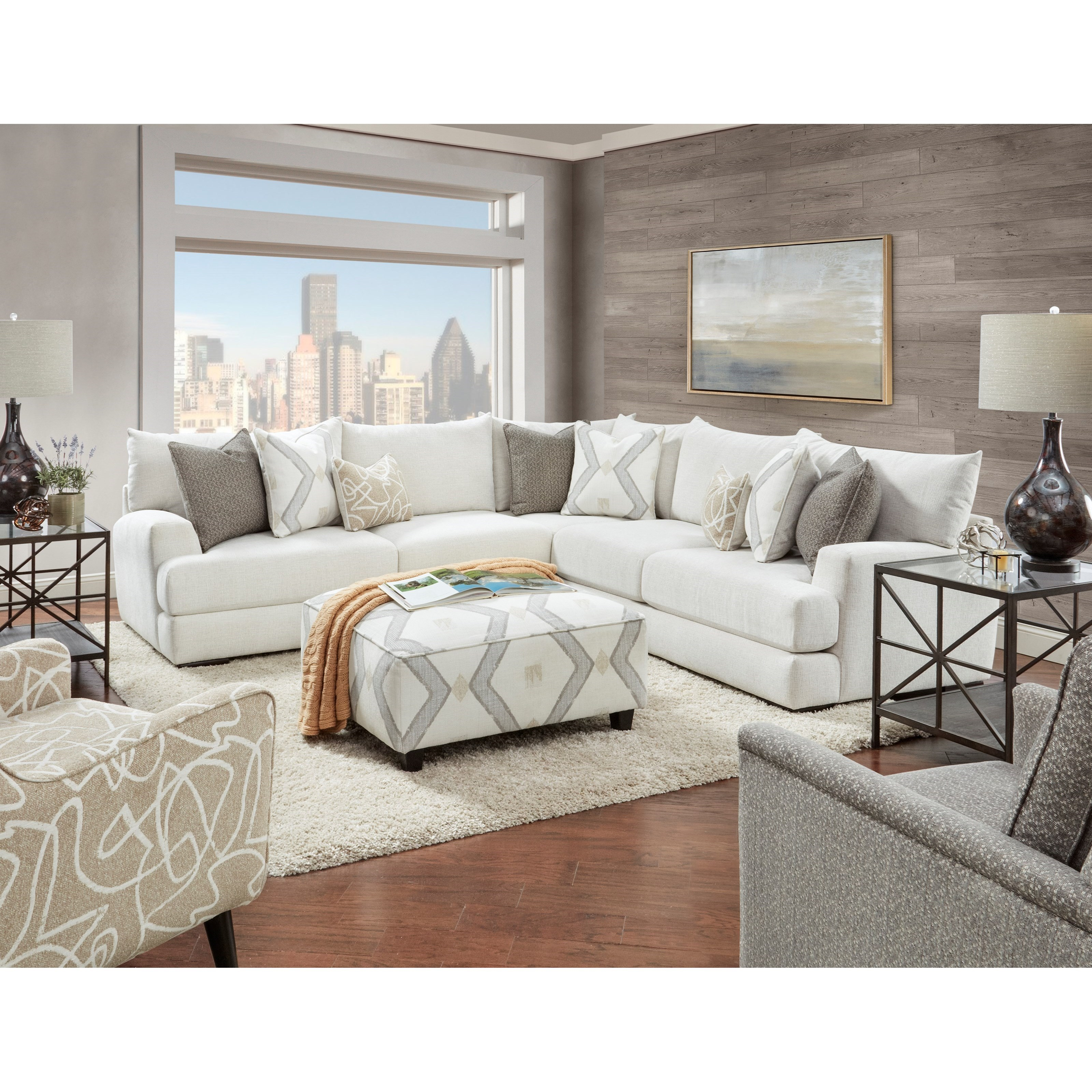 51-00 Living Room Group by Fusion Furniture at Wilson's Furniture