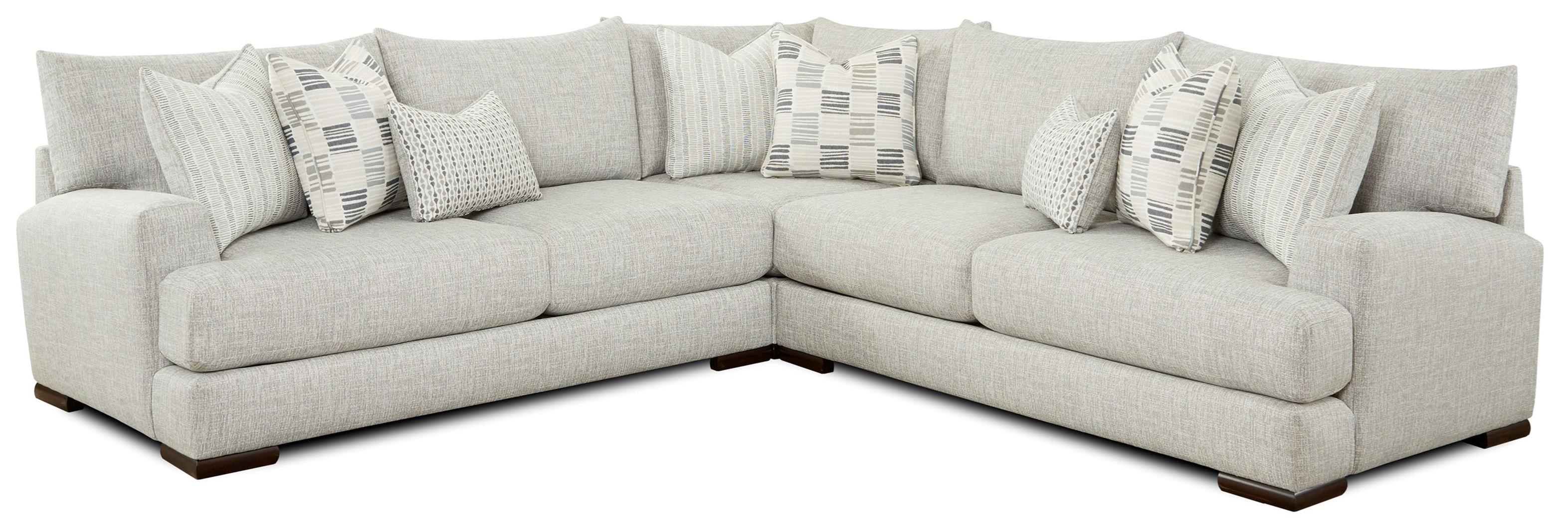 51-00 3-Piece Sectional by Fusion Furniture at Wilson's Furniture