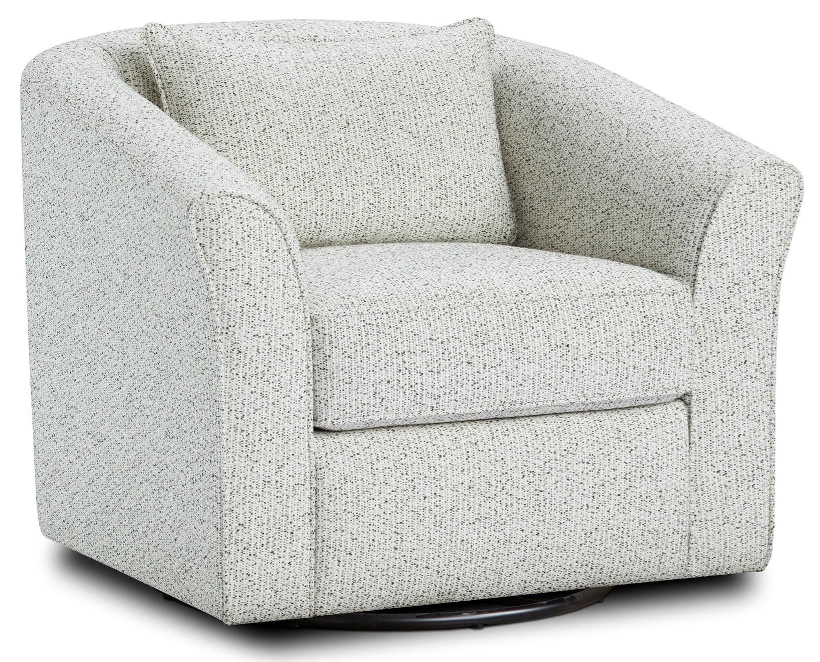 53-02 Swivel Chair by Fusion Furniture at Furniture Superstore - Rochester, MN