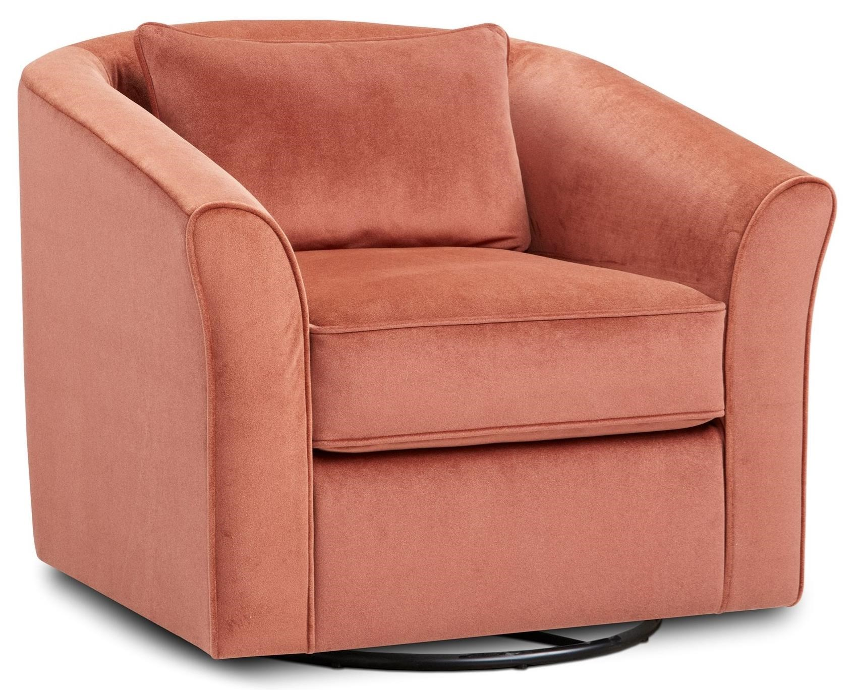 53-02 Swivel Chair by Fusion Furniture at Prime Brothers Furniture