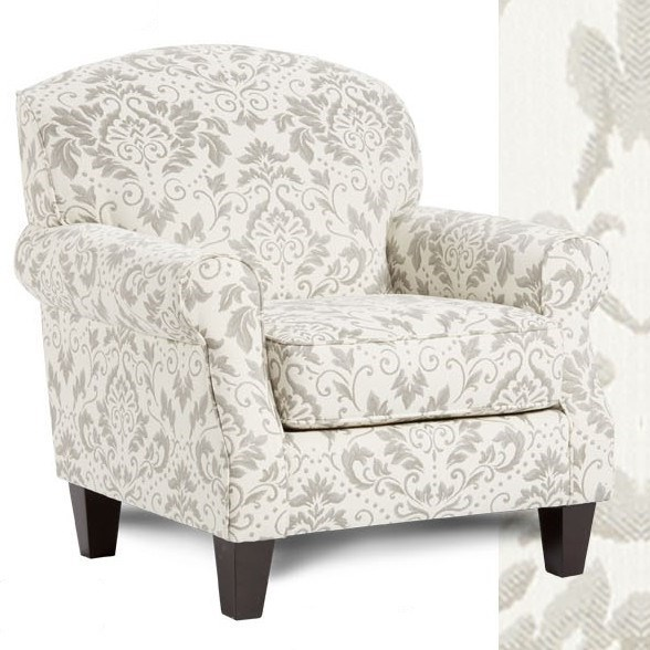 532 Accent Chair by Fusion Furniture at Miller Waldrop Furniture and Decor