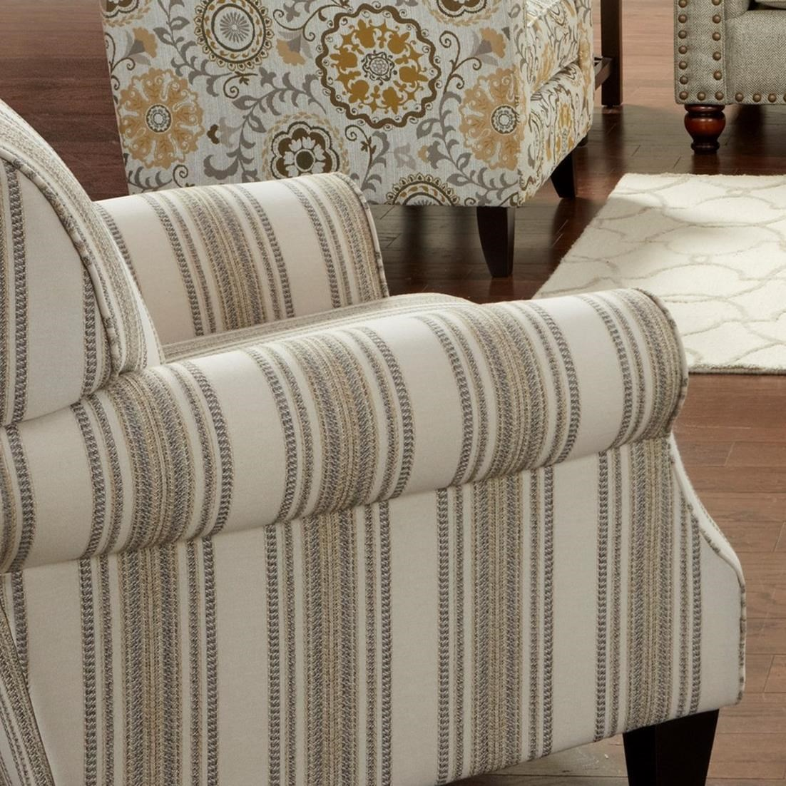 532 Accent Chair by Fusion Furniture at Dean Bosler's