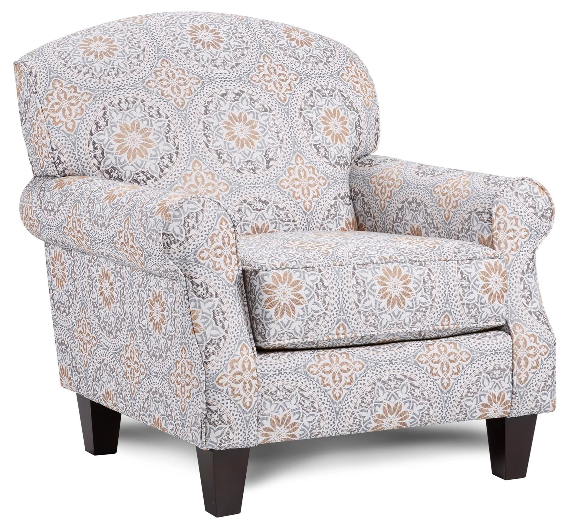 532 Accent Chair by Fusion Furniture at Prime Brothers Furniture