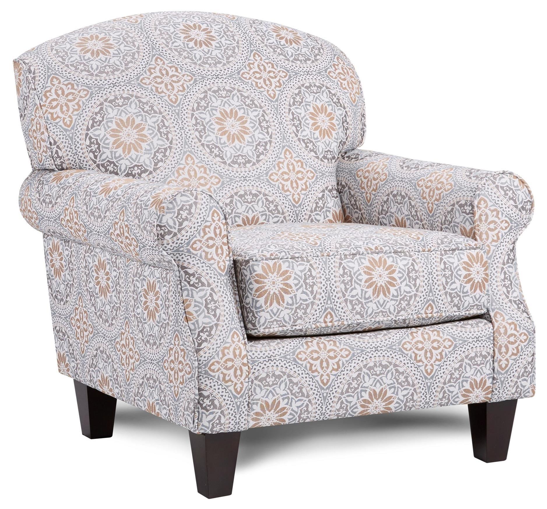 532 Accent Chair by Fusion Furniture at Furniture Fair - North Carolina
