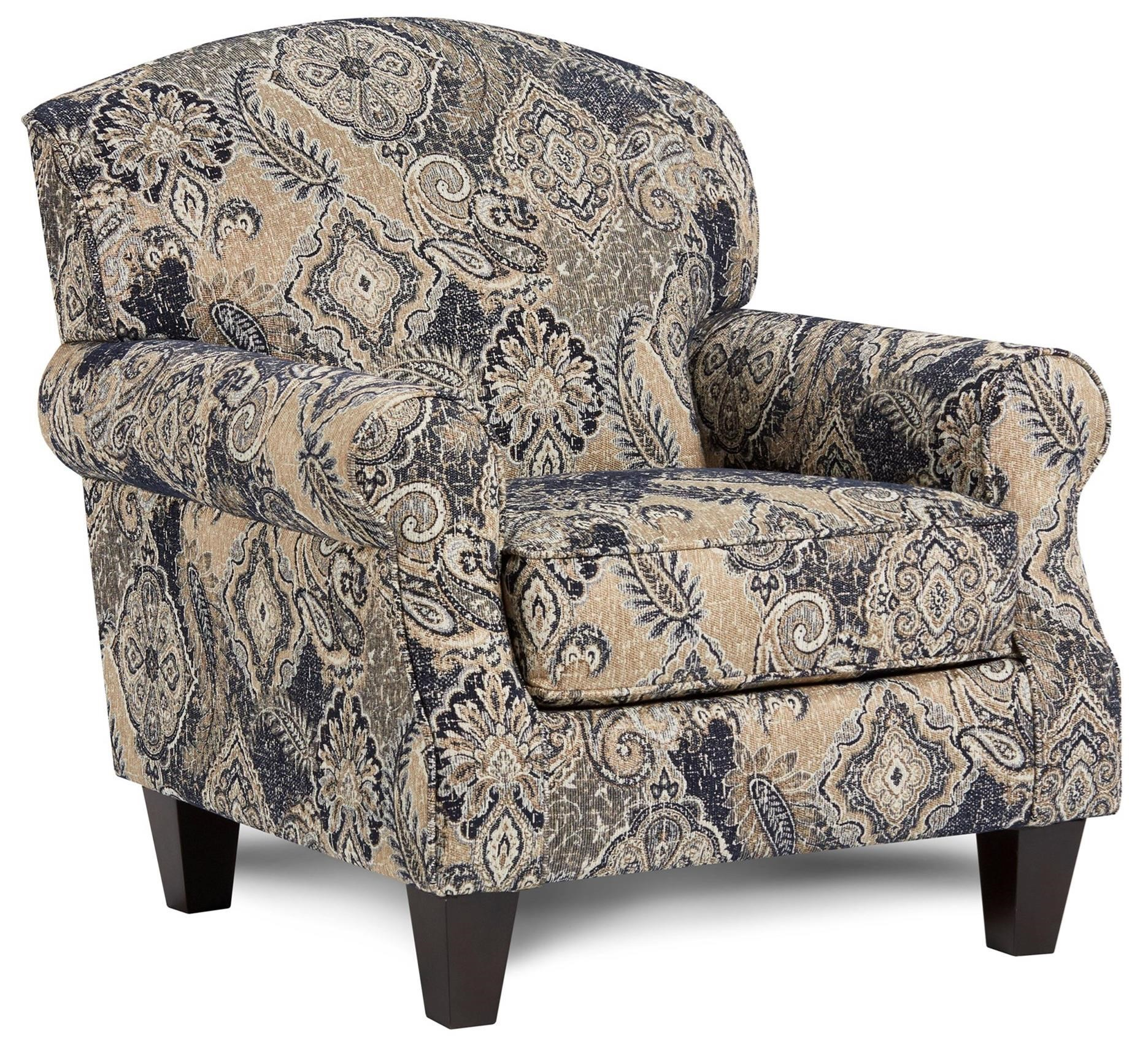 532 Accent Chair by Fusion Furniture at Lindy's Furniture Company
