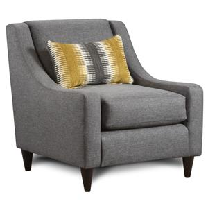 Fusion Furniture 592 Accent Chair with Pillow