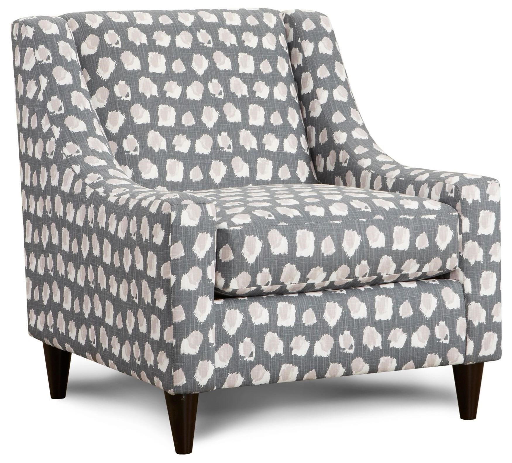 592 Accent Chair by Fusion Furniture at Miller Waldrop Furniture and Decor