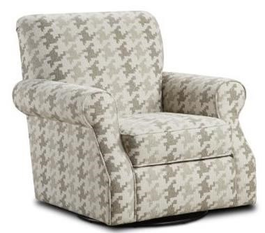 Isabella Swivel Accent Chair by Fusion Furniture at Crowley Furniture & Mattress