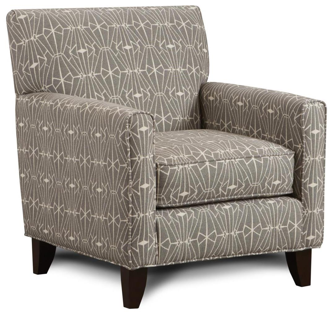 702 Accent Chair by Fusion Furniture at Miller Waldrop Furniture and Decor