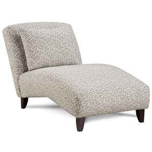 Contemporary Armless Chaise