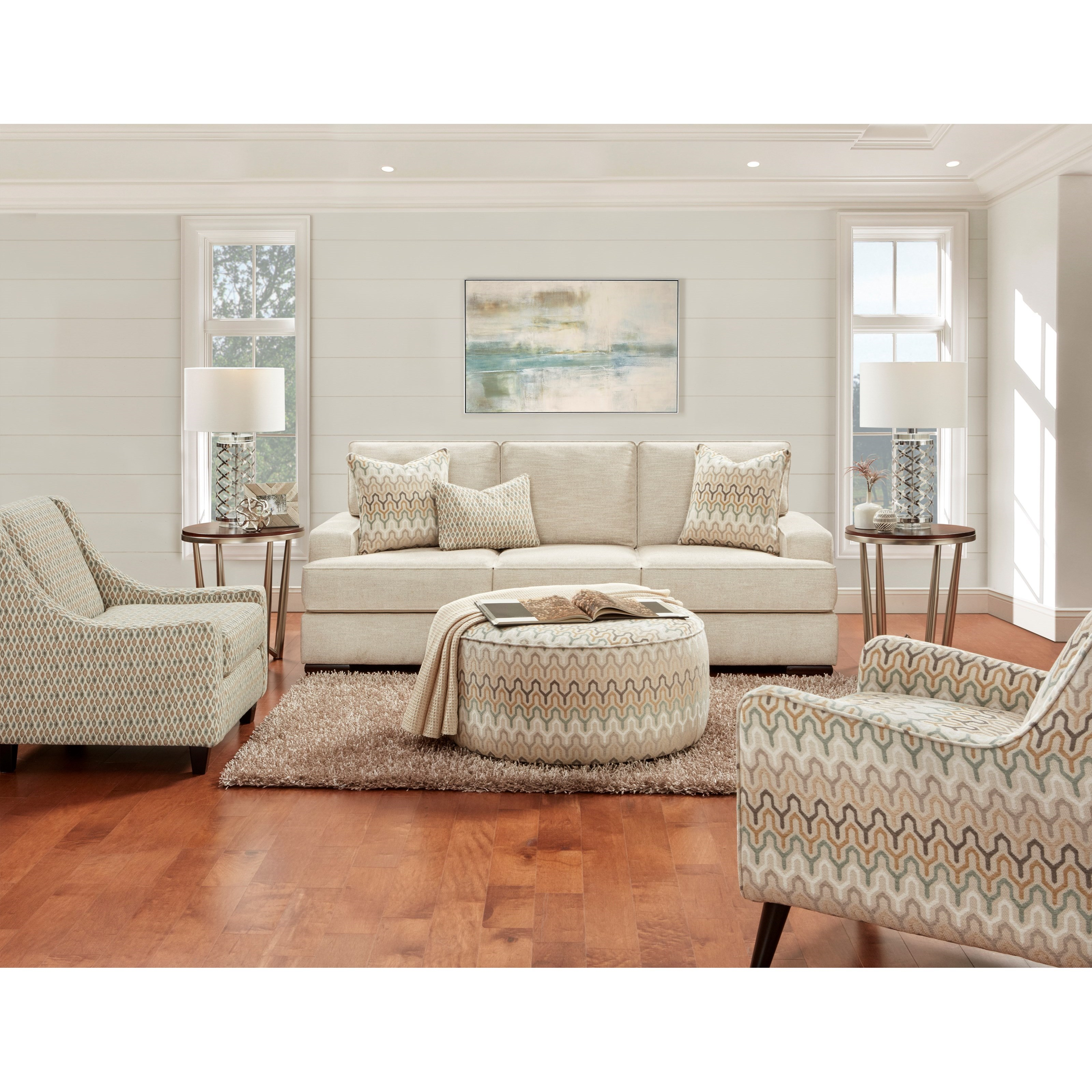 8560 Living Room Group by Fusion Furniture at Prime Brothers Furniture