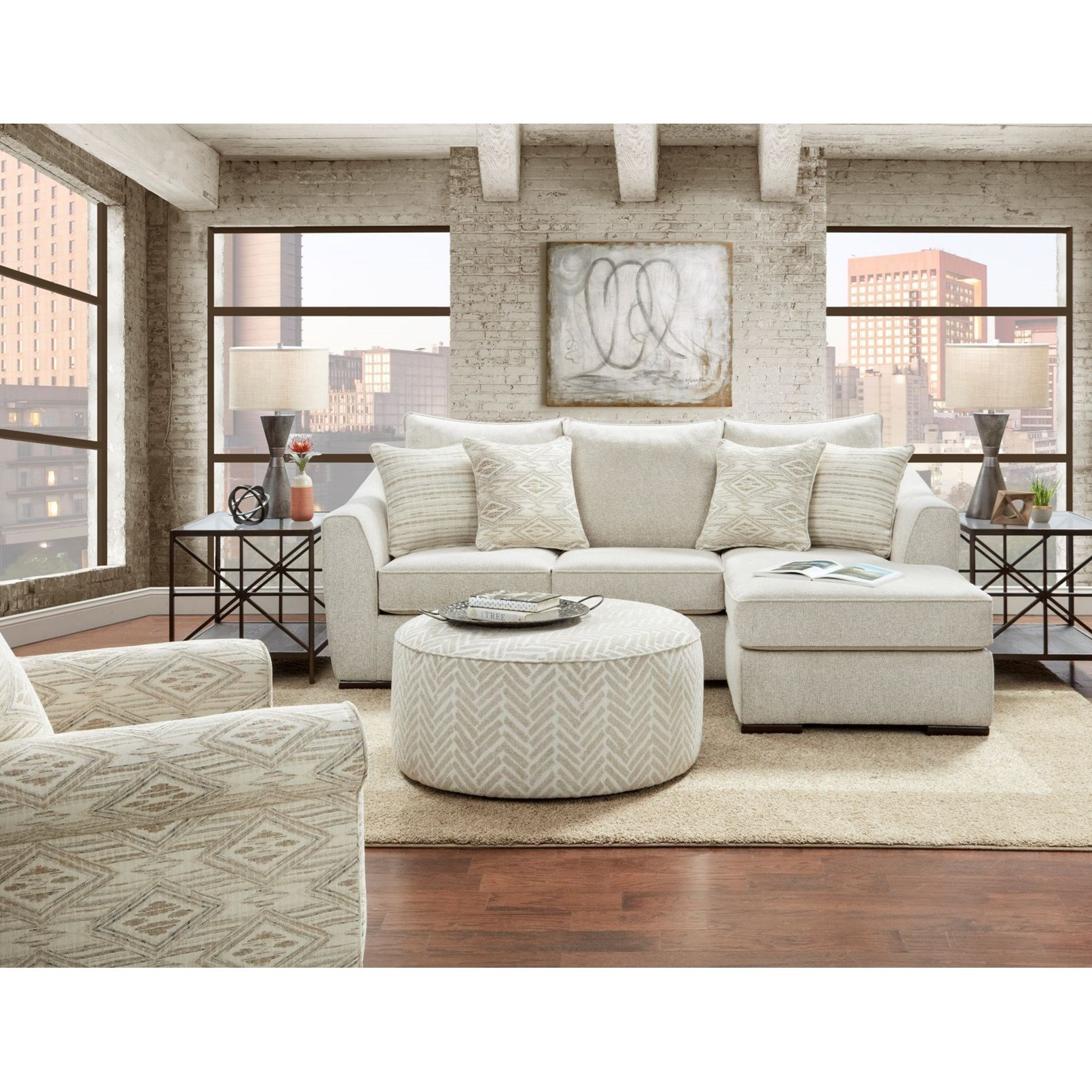 9770 Living Room Group by Fusion Furniture at Miller Waldrop Furniture and Decor