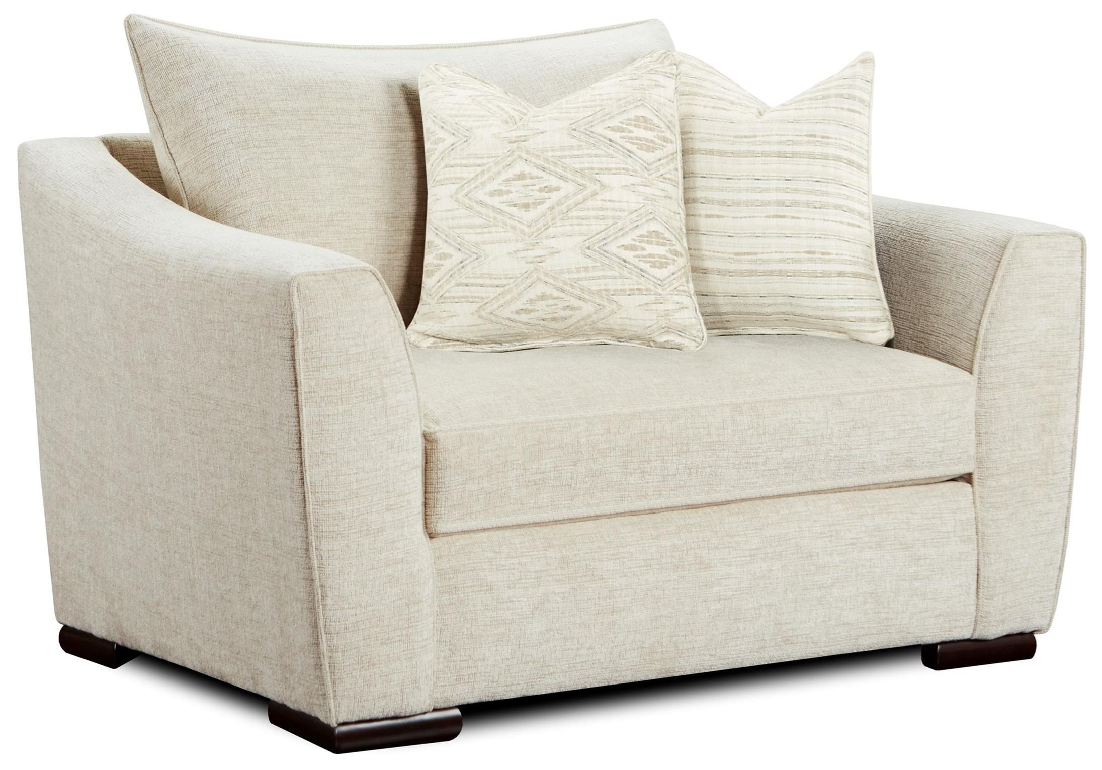9770 Chair and 1/2 by Fusion Furniture at Furniture Superstore - Rochester, MN