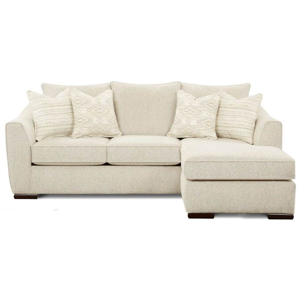 9770 Sofa Chaise by Fusion Furniture at Miller Waldrop Furniture and Decor