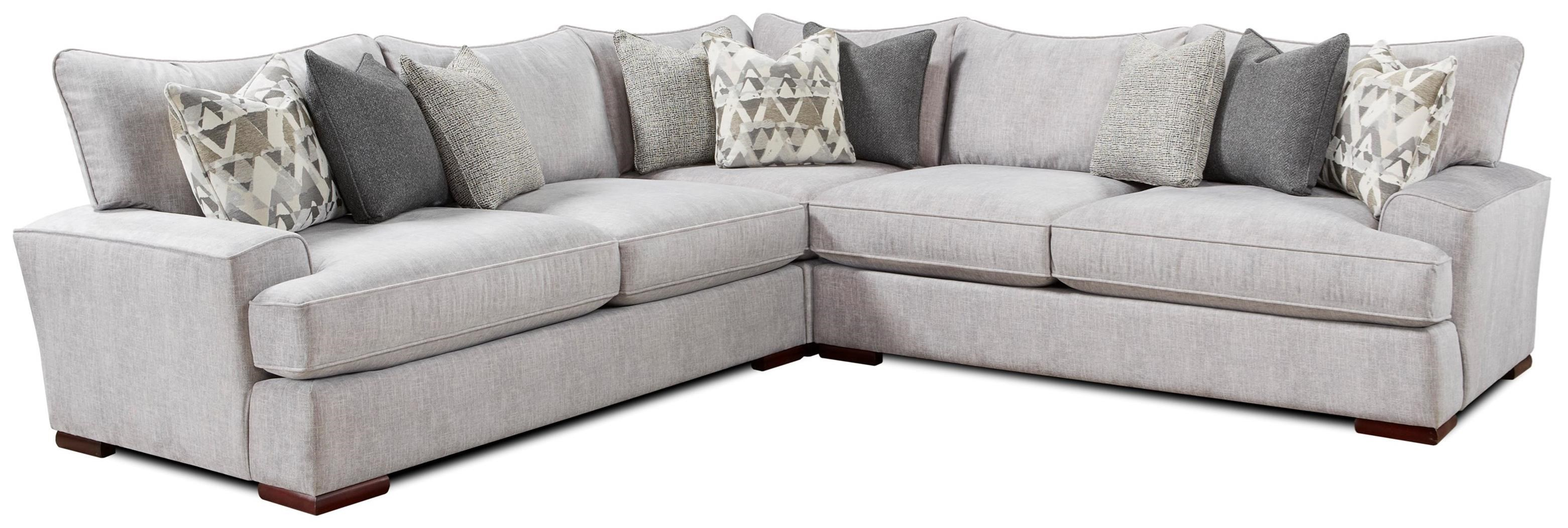 Tyler Sectional by Fusion Furniture at Crowley Furniture & Mattress