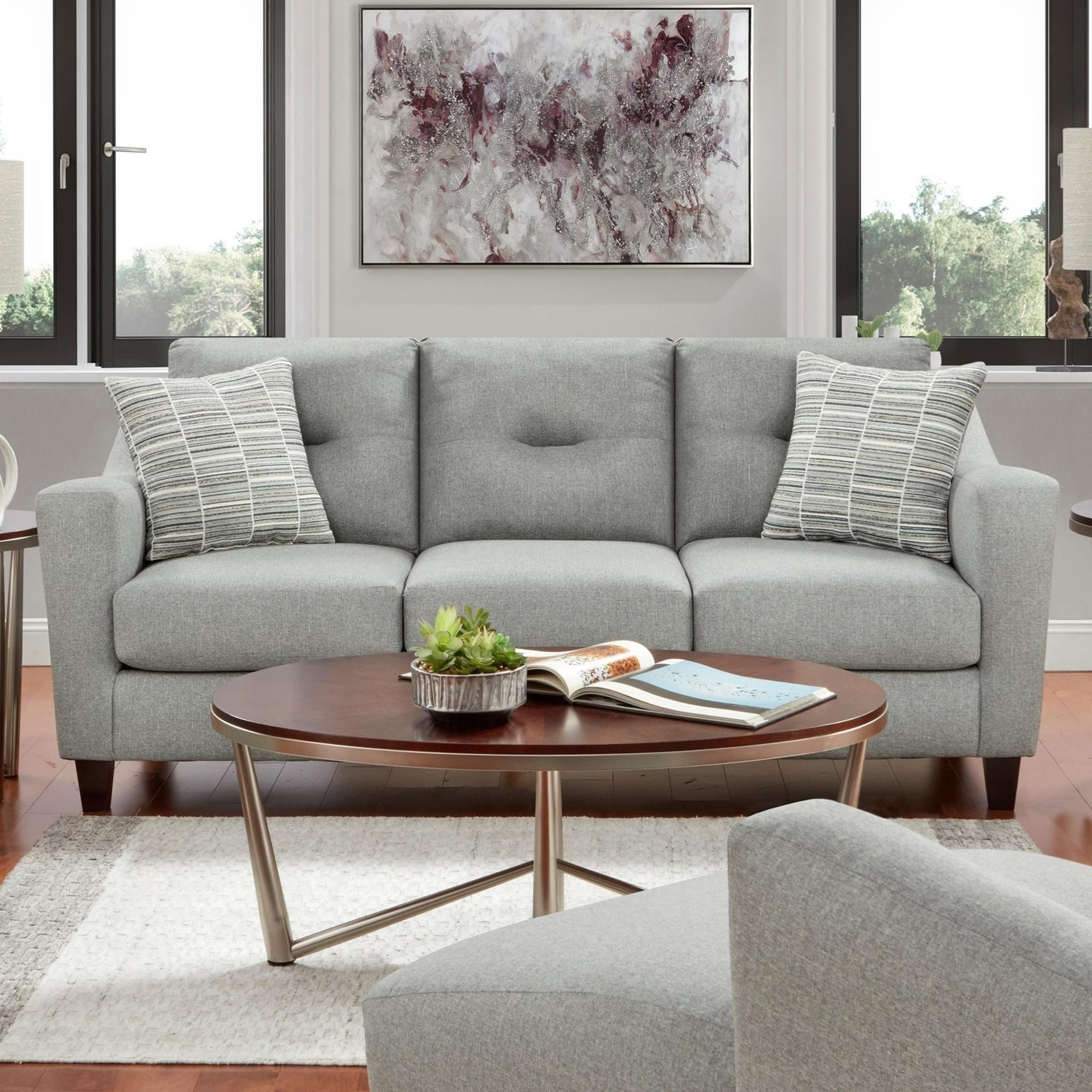 8210 Sofa by Fusion Furniture at Miller Waldrop Furniture and Decor