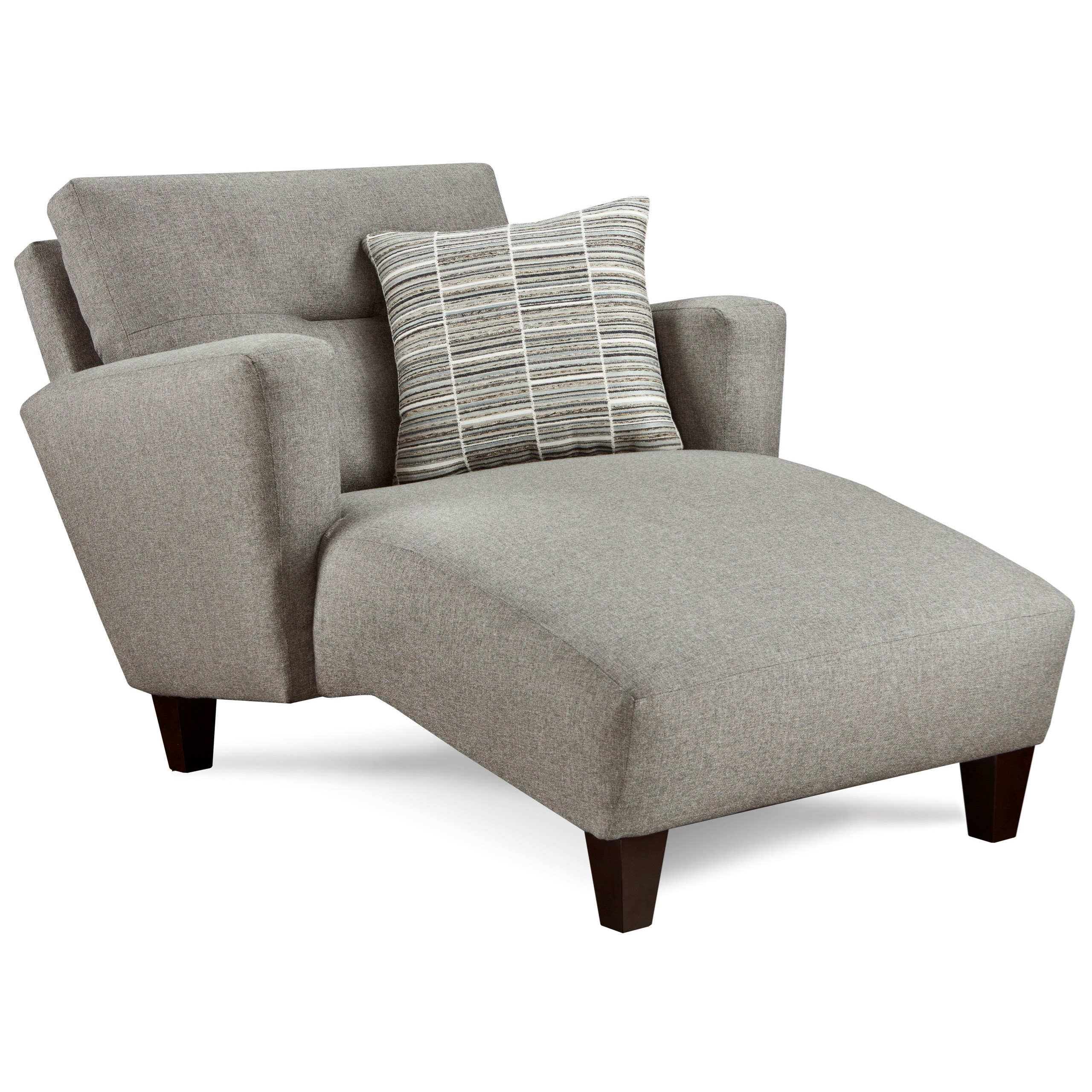 8210 Chaise by Fusion Furniture at Miller Waldrop Furniture and Decor