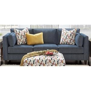 Fortana Sofa with Accent Pillows