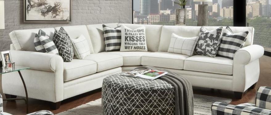 Heidi Heidi Sectional Sofa by Fusion Furniture at Morris Home