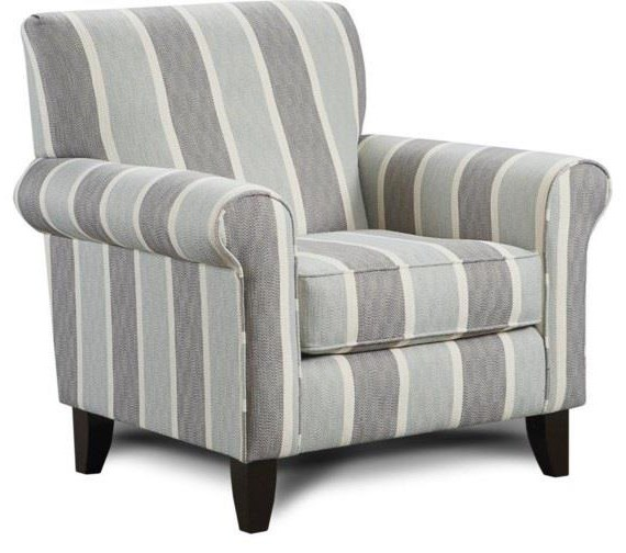 Mysteria Mysteria Accent Chair by Fusion Furniture at Morris Home