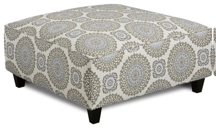 Mysteria Mysteria Cocktail Ottoman by Fusion Furniture at Morris Home