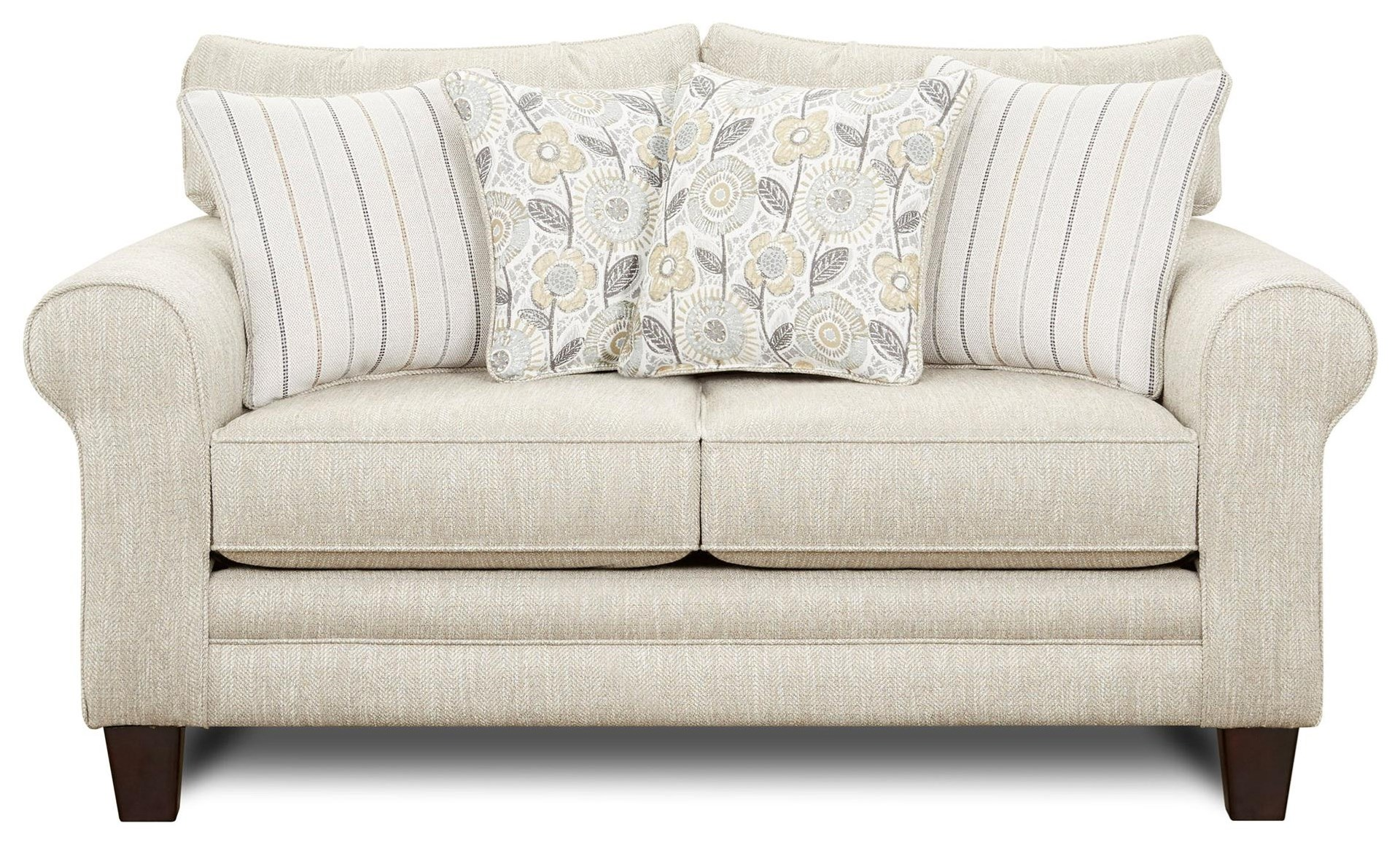 Vandy Heather Loveseat by Kent Home Furnishings at Johnny Janosik