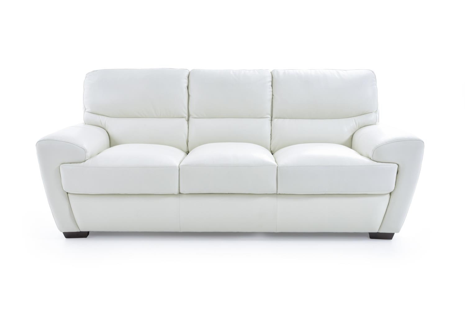 10131 Contemporary Sofa by Futura Leather at Baer's Furniture