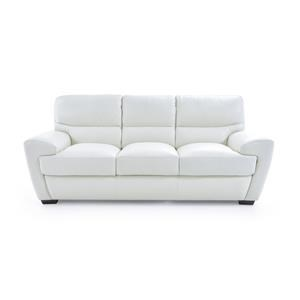 Contemporary Sofa with Angled Arms