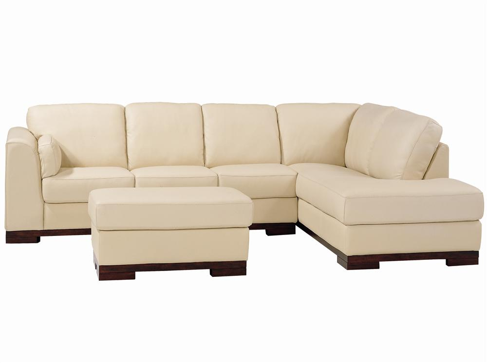 6103 Left Arm Facing Sectional by Futura Leather at Thornton Furniture