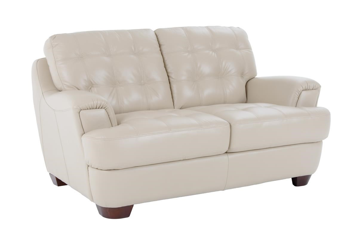Loveseat with Flared Tapered Arms