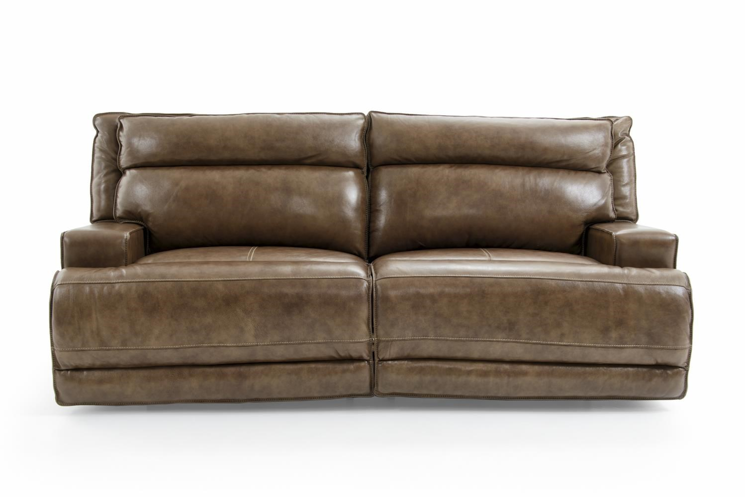 Contemporary Electric Motion Sofa with Track Arms and USB Port