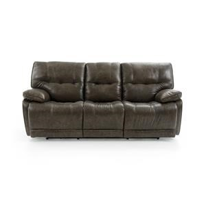 Casual Electric Motion Sofa with Pillow Arms