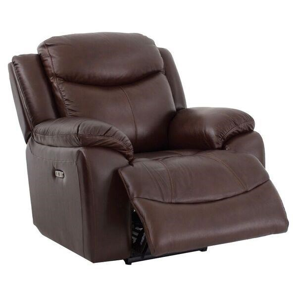 Casual Power Recliner with Power Headrest