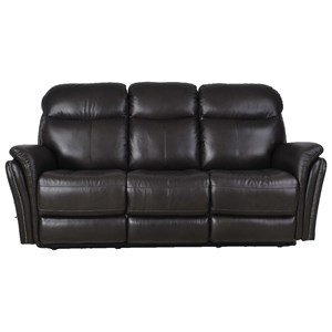 Transitional Electric Motion Sofa with Pillow Arms