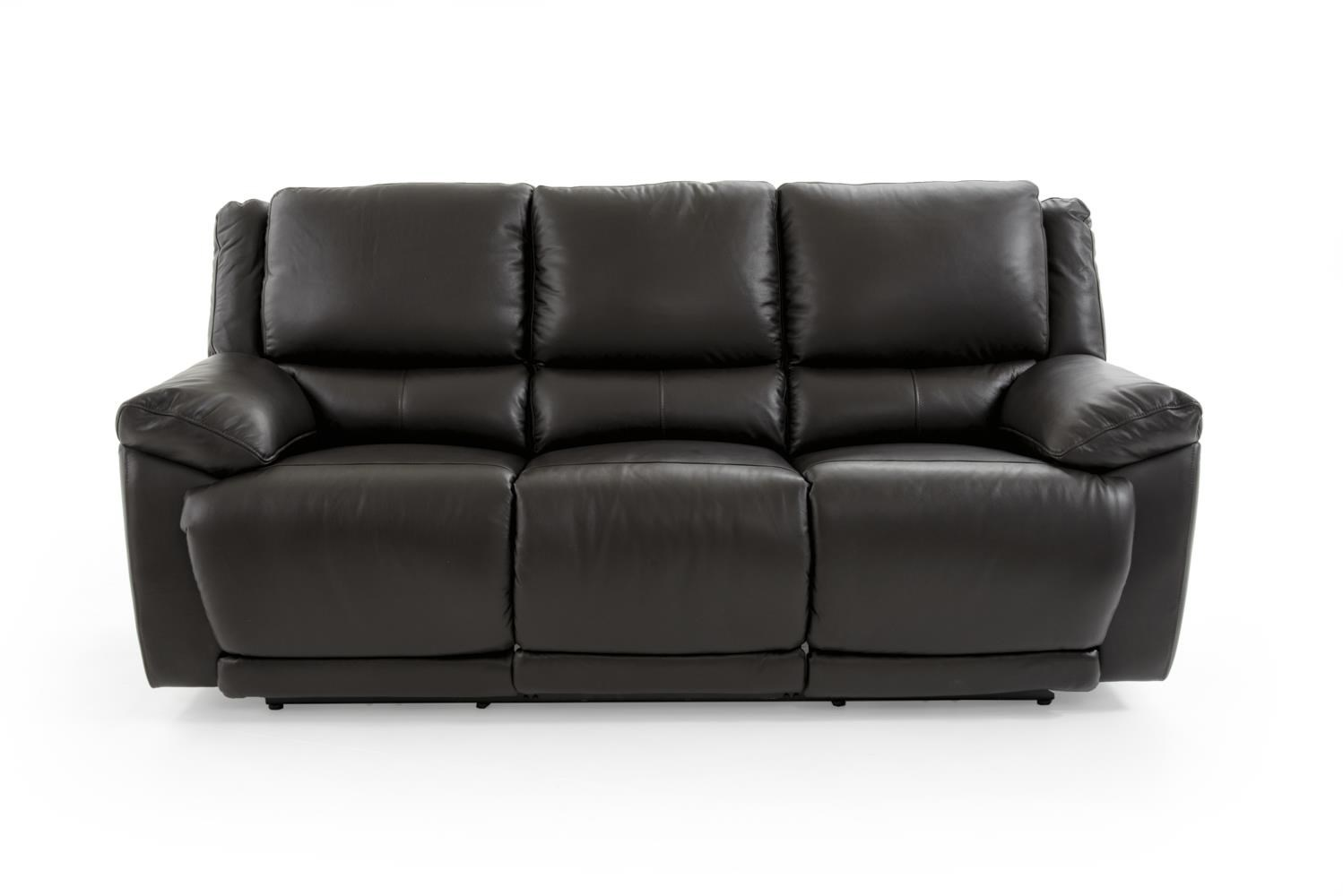 Casual Electric Motion Sofa with Power Headrests